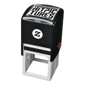 Slå det Rubber frimärket för bilder Självfärgande Stämpel