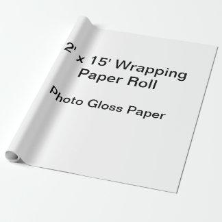 Slå in papper (2x15 rulle, fotoet kommenterar presentpapper