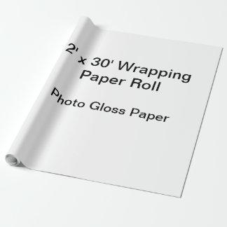 Slå in papper (2x30 rulle, fotoet kommenterar presentpapper