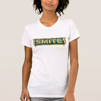 SLÅ logotypslagfältet av gudarna T Shirts