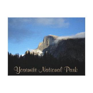 Slågen in kanfas för Yosemite nationalpark Canvastryck