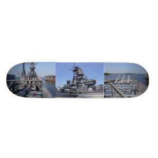 Slagskepp USS Wisconsin Skateboard Deck