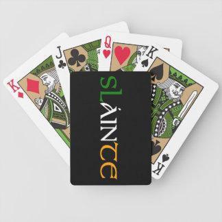 Slainte leka kort spelkort