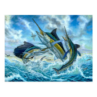 Slam och Flyingfish för banhoppning storslagen Vykort