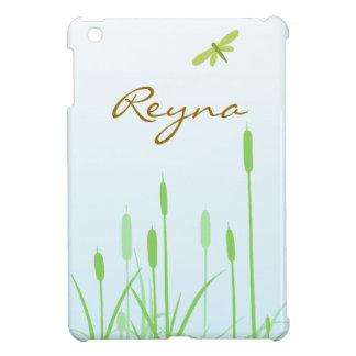 Slända och gräs - anpassade iPad mini fodral