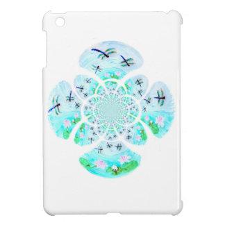 Sländor liljablommamönster iPad mini mobil skydd