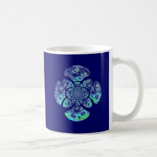 Sländor liljablommamönster kaffemugg