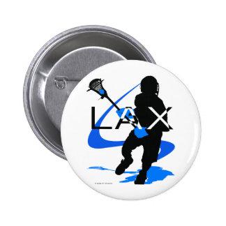 SLAPPA blått för Lacrossepojkar Standard Knapp Rund 5.7 Cm