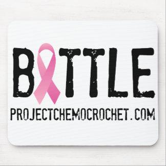 SLÅSS bröstcancerlogotypen från rosa krigare, Inc Musmatta