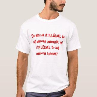 Slåss för att avsluta abort t shirt