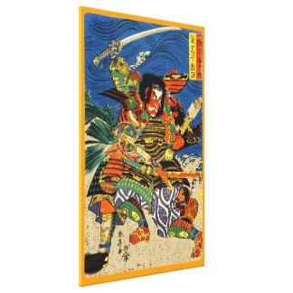 Slåss för Samuraikrigare Canvastryck