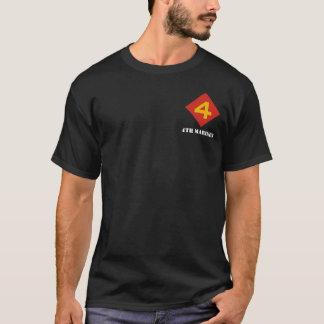 """Slåss Fourth"" utslagsplats T-shirts"