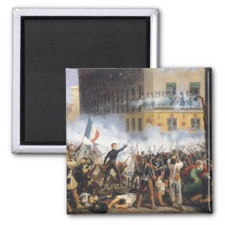 Slåss i ruen de Rohan, 28th Juli 1830, 1831 Magnet