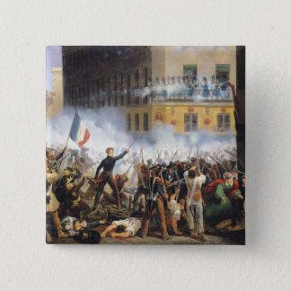 Slåss i ruen de Rohan, 28th Juli 1830, 1831 Standard Kanpp Fyrkantig 5.1 Cm