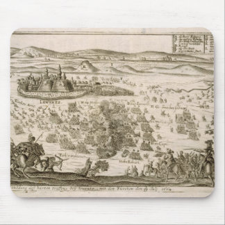 Slåss nära townen av Levice i 1664, illustrati Musmatta