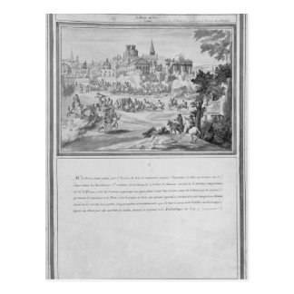Slåss på Porte Sainte-Antoine, 2nd Juli 1652 Vykort