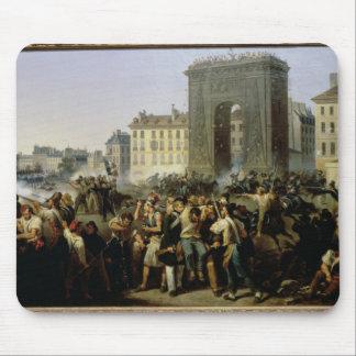 Slåss på Porten Sanktt-Denis, 28th Juli 1830 Musmatta