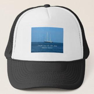Släta hav gör inte skillful sjömän (proverben) keps