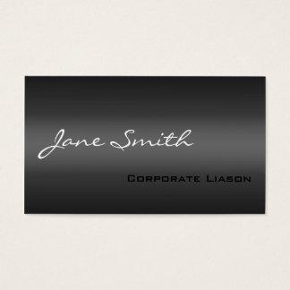 Slätten skuggar av grå färgprofessionellvisitkort visitkort