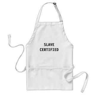 Slav- auktoriserad för förkläde