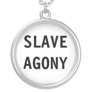 Slav- dödskamp för halsband