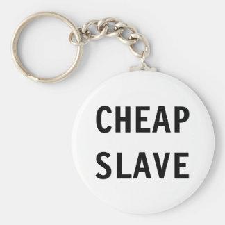 Slav- nyckelringbilligt rund nyckelring