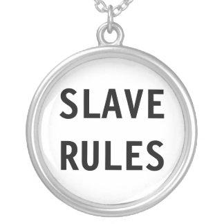 Slav- regler för halsband