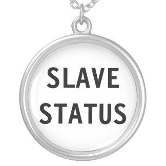 Slav- status för halsband