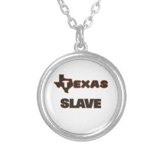 Slav- Texas Halsband Med Rund Hängsmycke