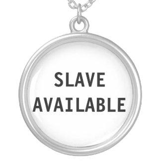 Slav- tillgängligt för halsband