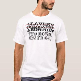 SLAVERI FÖRINTELSE, ABORT TRÖJA