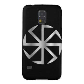 Slavik religion det Kolovrat symbolet Galaxy S5 Fodral