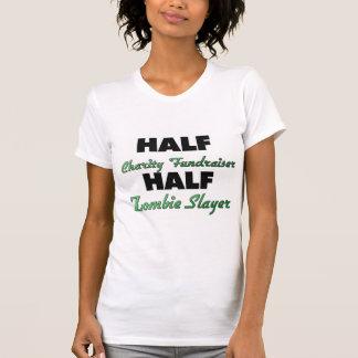 Slayer för Zombie för halv välgörenhetFundraiser T Shirts