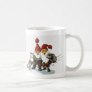 Sledding för Julenisse vänner Kaffemugg