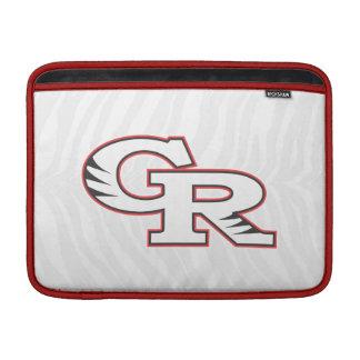 Sleeve för bok för GR-zebra tryckmac MacBook Air Sleeves