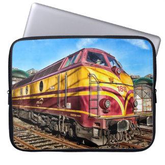 Sleeve för grafitti för tåg för ångamotor rörlig laptopskydd fodral