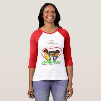 Sleeve för högskolaälskareBella kanfas 3/4 T Shirts