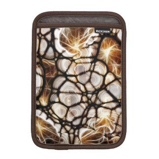 Sleeve för iPad för Fractalwebbenbrunt mini-