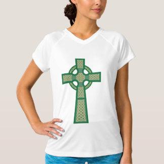 Sleeveless Ladies för grön Celtickor mikrofiber T Shirt