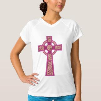 Sleeveless Ladies för rosa Celtickor mikrofiber Tshirts