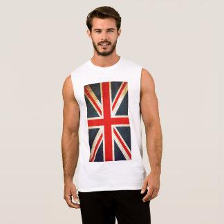 Sleeveless T-tröja för brittiska flaggamanar Ultra Sleeveless Tröja