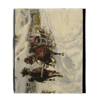 Sleighritten, 1896 (olja på kanfas)