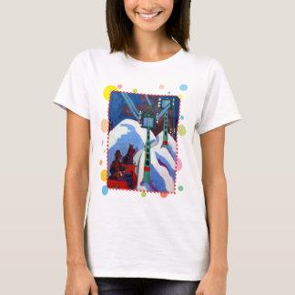 Sleighritten av Ernst Ludwig Kirchner T-shirts