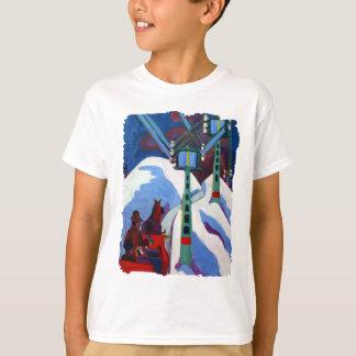 Sleighritten av Ernst Ludwig Kirchner Tee Shirts