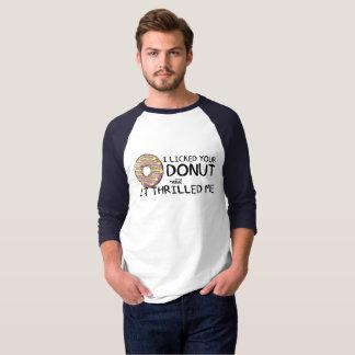 """""""Slickade jag din munk"""" manar 3/4 Raglan för T-shirts"""
