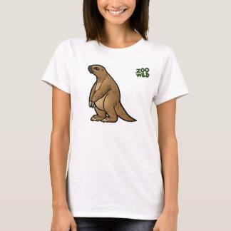 Slipad Sloth för jätte T-shirts