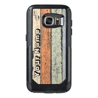 Slitet Wood mönster OtterBox Samsung Galaxy S7 Skal