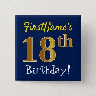 Slösa den 18th födelsedagen för Fauxguld, med Standard Kanpp Fyrkantig 5.1 Cm