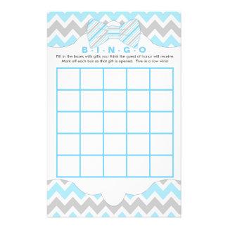 Slösa gråa lekar för bingo- och handväskapojkebaby reklamblad 14 x 21,5 cm