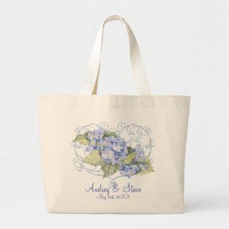 Slösa vanlig hortensia, fjäril & virvla runt den m tygkassar